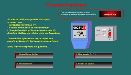 AniPhys 3 : EnergElec