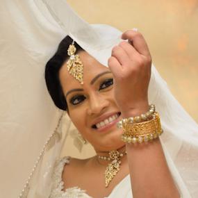Bride by Kavindu Anthony - Wedding Bride ( bridle, wedding, sri lankan, sri lankan wedding, bride,  )