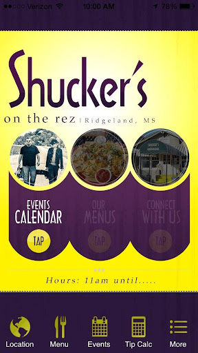 Shuckers Oyster Bar On The Rez