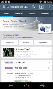 Berean Baptist Church - screenshot thumbnail
