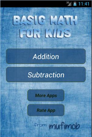 Basic Math for Kids 1.0 screenshot 2071834