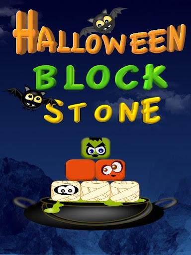 Halloween Block Stone