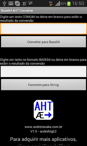 Base64 encoding AHT FULL