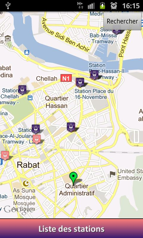 iTramway Rabat-Sale - screenshot