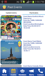 Tamil Sangam Michigan- screenshot thumbnail