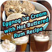 Eggnog Ice Cream Rum Recipe