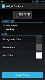 Holo Ambient Temperature Screenshot 5