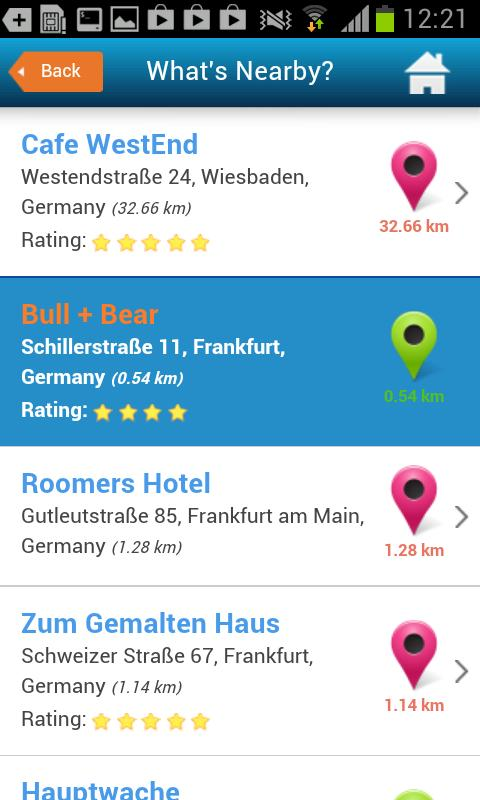 Frankfurt Hotels, Map & Guide- screenshot