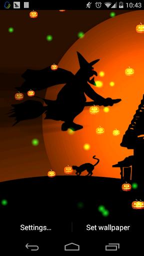 玩個人化App|Halloween HD livewallpaper免費|APP試玩