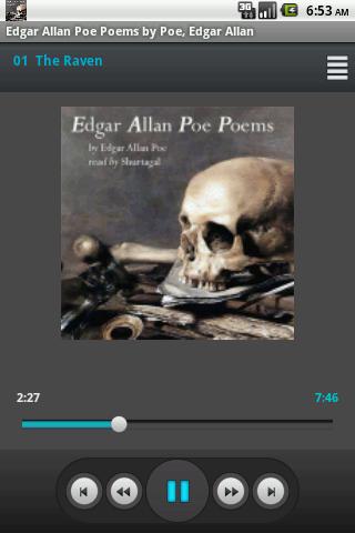 Audiobook Edgar Allan Poe Poem