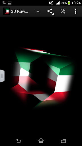 3D Kuwait Live Wallpaper