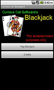 Curious Cat Blackjack - screenshot thumbnail