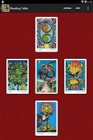 Screenshot of Tarot of the Holy Light