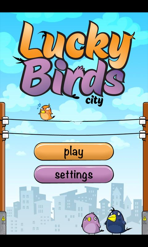 Lucky Birds City - screenshot