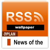 RSS ticker wallpaper icon
