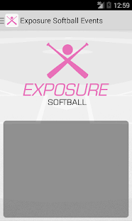 Exposure Softball Events- screenshot thumbnail