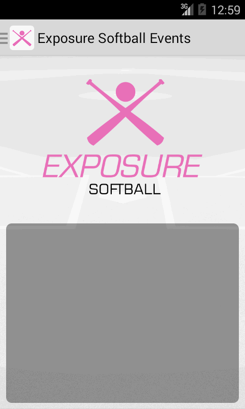Exposure Softball Events- screenshot