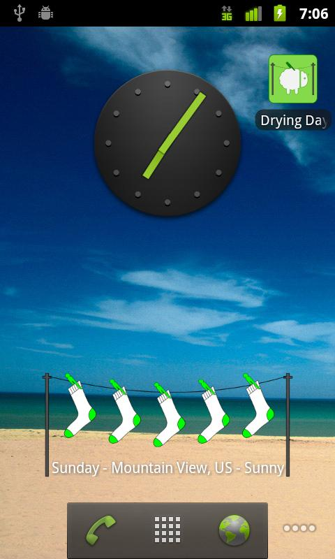 Drying Days - screenshot