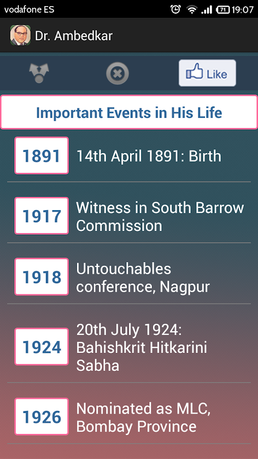 Dr. B.R.Ambedkar - screenshot