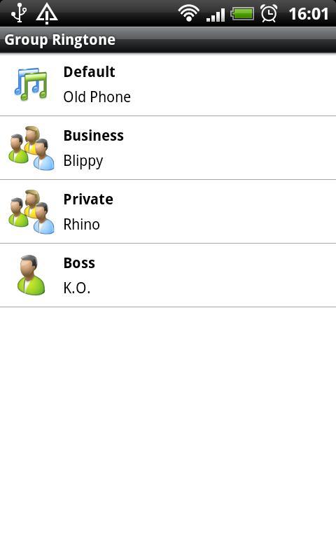 Group Ringtone- screenshot