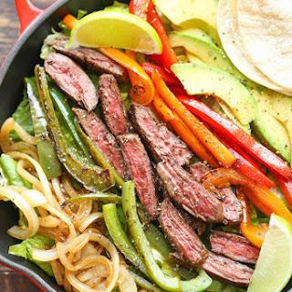 Steak Fajita Salad.