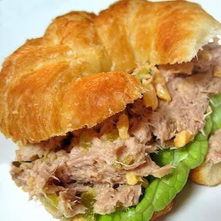 Tangy Tuna Croissants