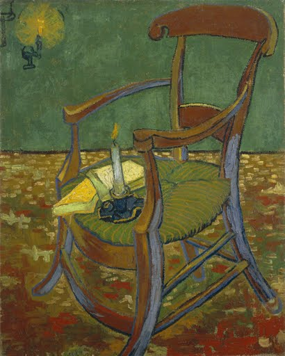 Gauguin's chair - Vincent van Gogh - Google Arts & Culture