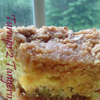 Rhubarb-Orange Coffee Cake