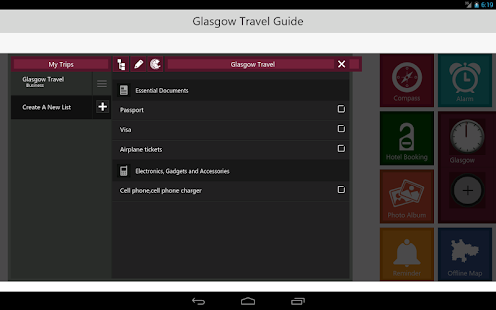 Glasgow Travel - Pangea Guides- screenshot thumbnail