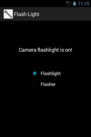 Flashlight Emergency Flasher