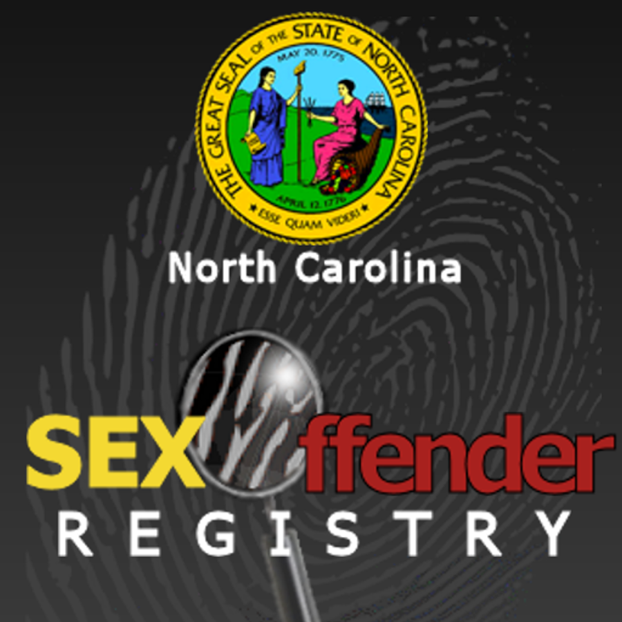 NC Sex Offender Registry- screenshot