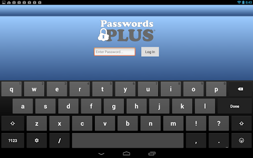 Passwords Plus - Free Vault- screenshot thumbnail
