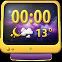 Medianoche Widget Del Tiempo icon