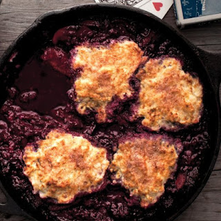 Skillet-Cooked Mixed-Berry Grunt