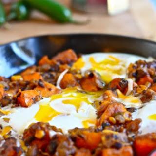 Southwestern Sweet Potato Breakfast Skillet.