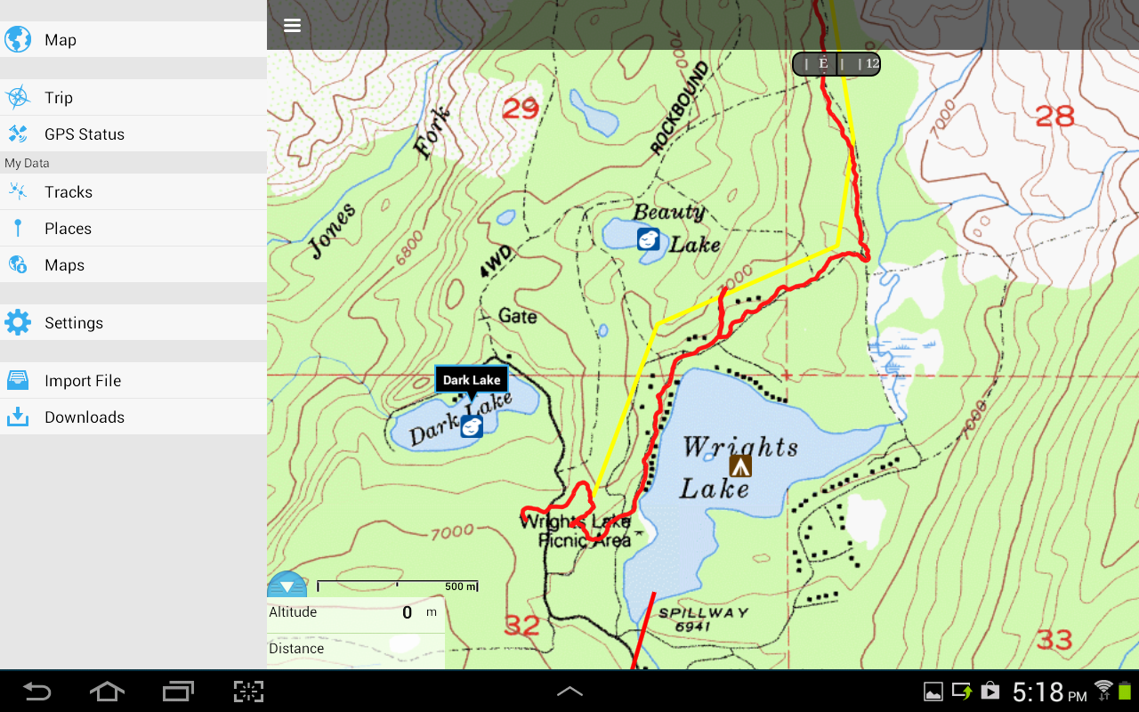 Gaia GPS: Topo Maps and Trails- screenshot