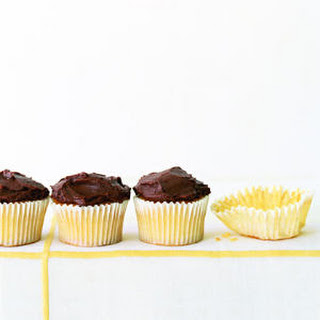 Chocolate Frosted Cupcakes.