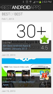 Best Android Apps - screenshot thumbnail