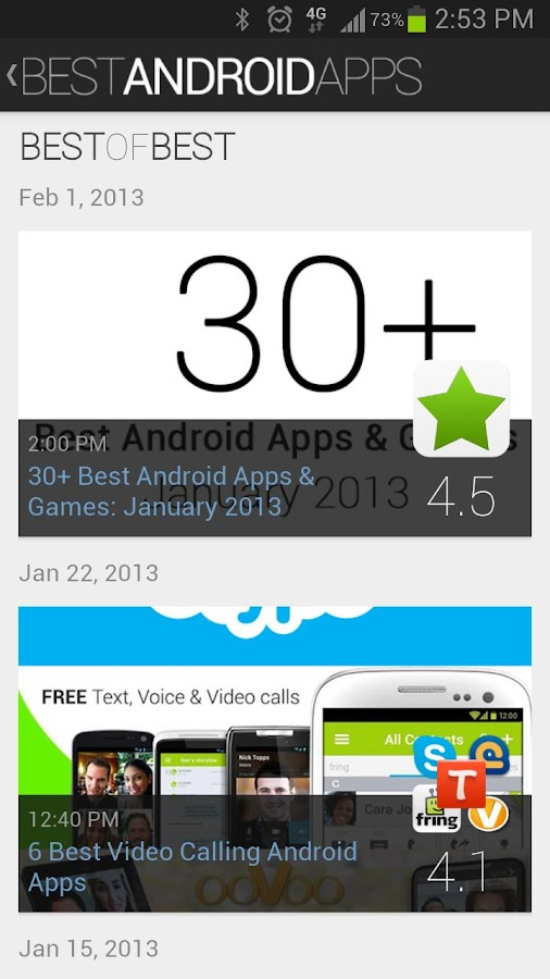 Best Android Apps - screenshot