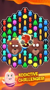 Disco Bees - New Match 3 Game- screenshot thumbnail
