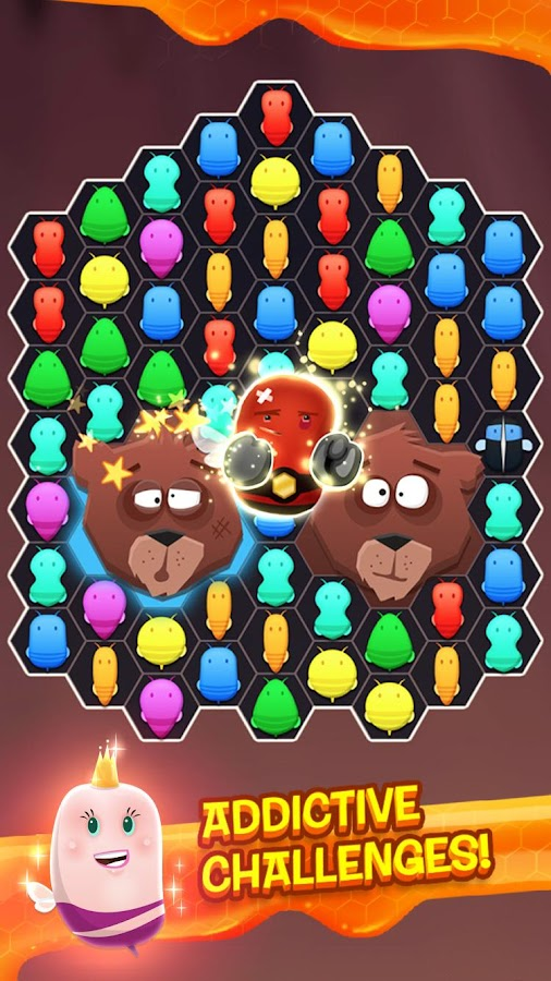 Disco Bees - New Match 3 Game - screenshot