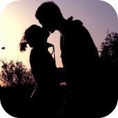 Kiss In Silhouette