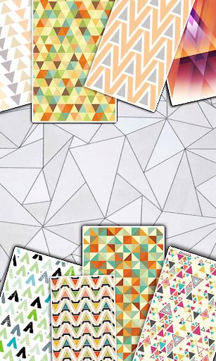 三角形壁纸