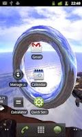 Screenshot of 3D Panorama Avatar LWP TRIAL