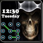 Skull Pattern Lock