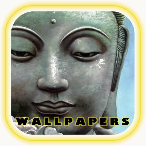 Buddha Backgrounds LOGO-APP點子
