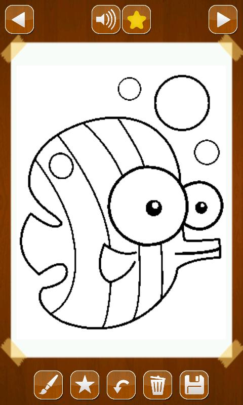 Coloring Pages App For Android : Animals coloring book android apps on google play