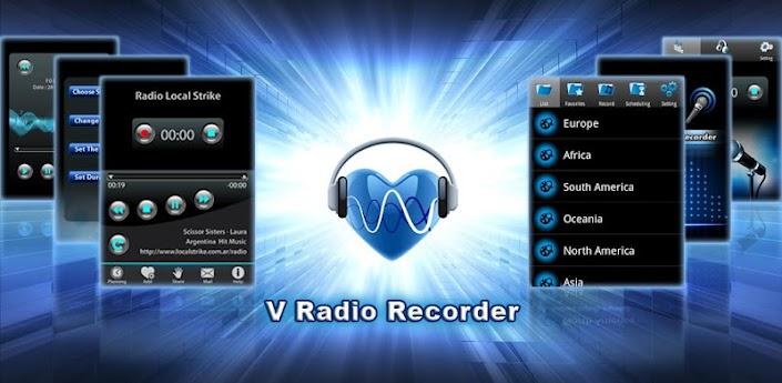 V Radio Recorder apk