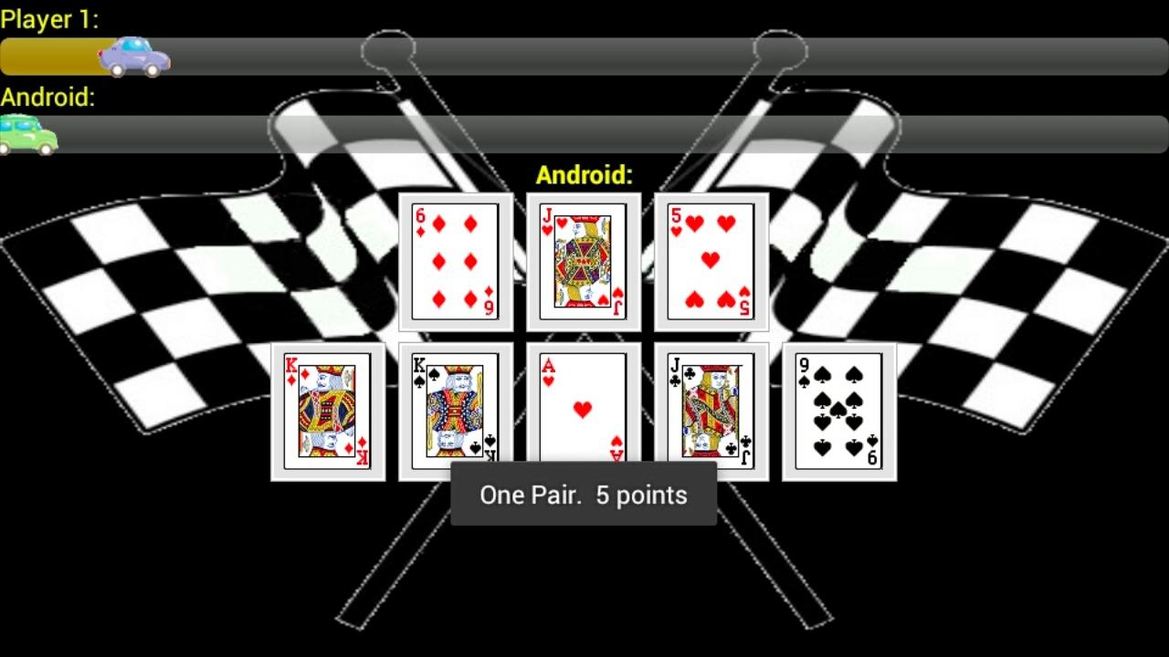 Race Poker Lite - screenshot