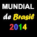 Al Mundial Brasil 2014 logo